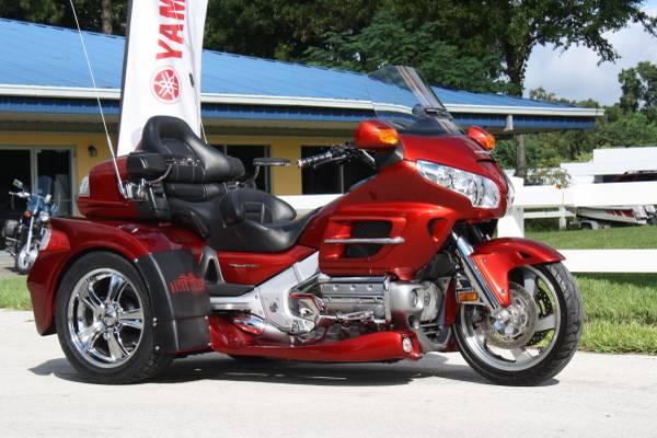 2008 honda gl1800 goldwing trike motor trike sold for Martins yamaha ocala