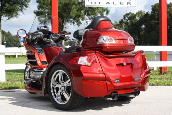 2008 Honda GoldWing With Brand New Motor Trike Conversion. The Bike Has 27k  Miles On It With The Brand New Kit Having 0 Miles. This Is One Of The  Cleanest ...