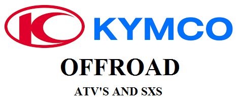 New Kymo Atv's and SXS